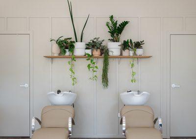 Halo Room wash stations